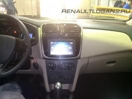 thumbs renaultlogan2 salon Фотографии нового Renault Logan 2014