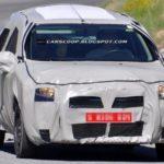 Первые шпионские фотографии Renault Logan 2