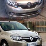 Опубликована фотография нового Renault Logan