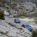 Новый Logan на серпантинах Черногории
