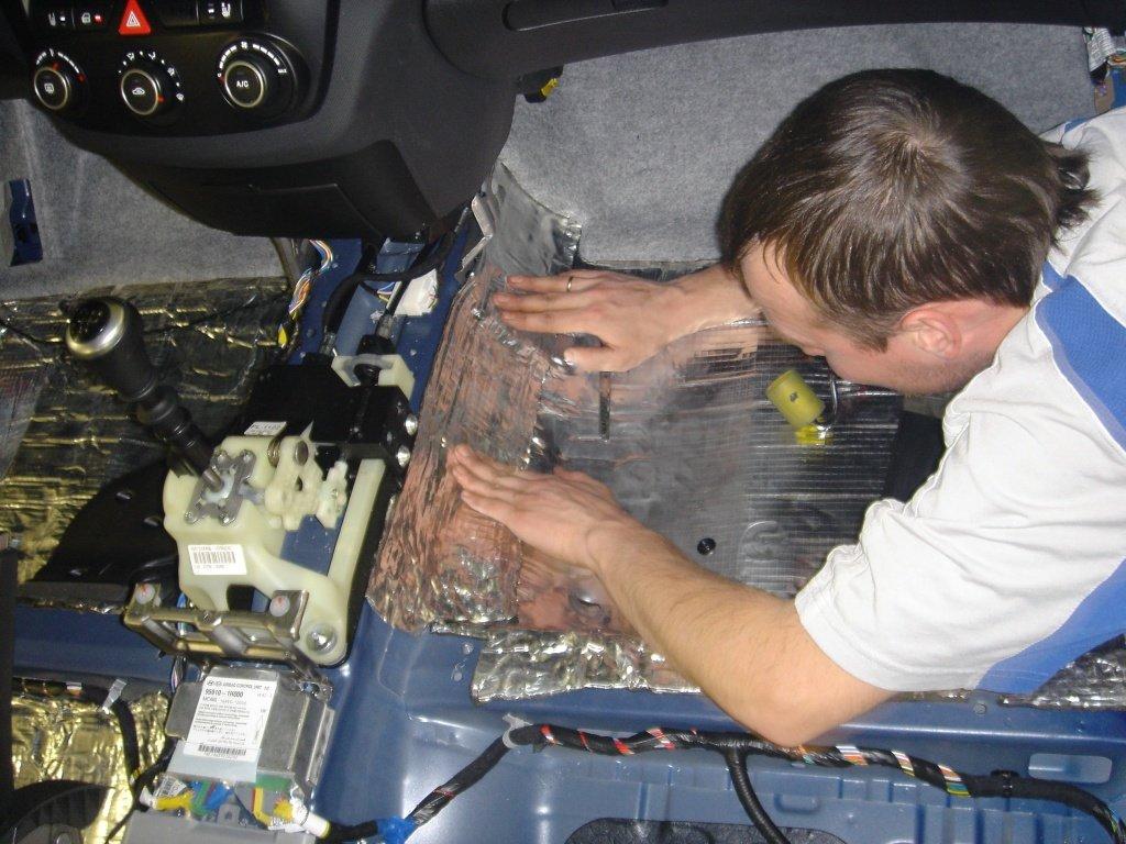 Шумоизоляция автомобиля своими руками