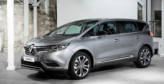 Покупатели из Европы проинформированы о цене нового Renault Espace