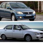 LADA Granta против Renault Logan 2