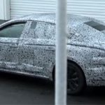 Renault Laguna угодил в сети папарации