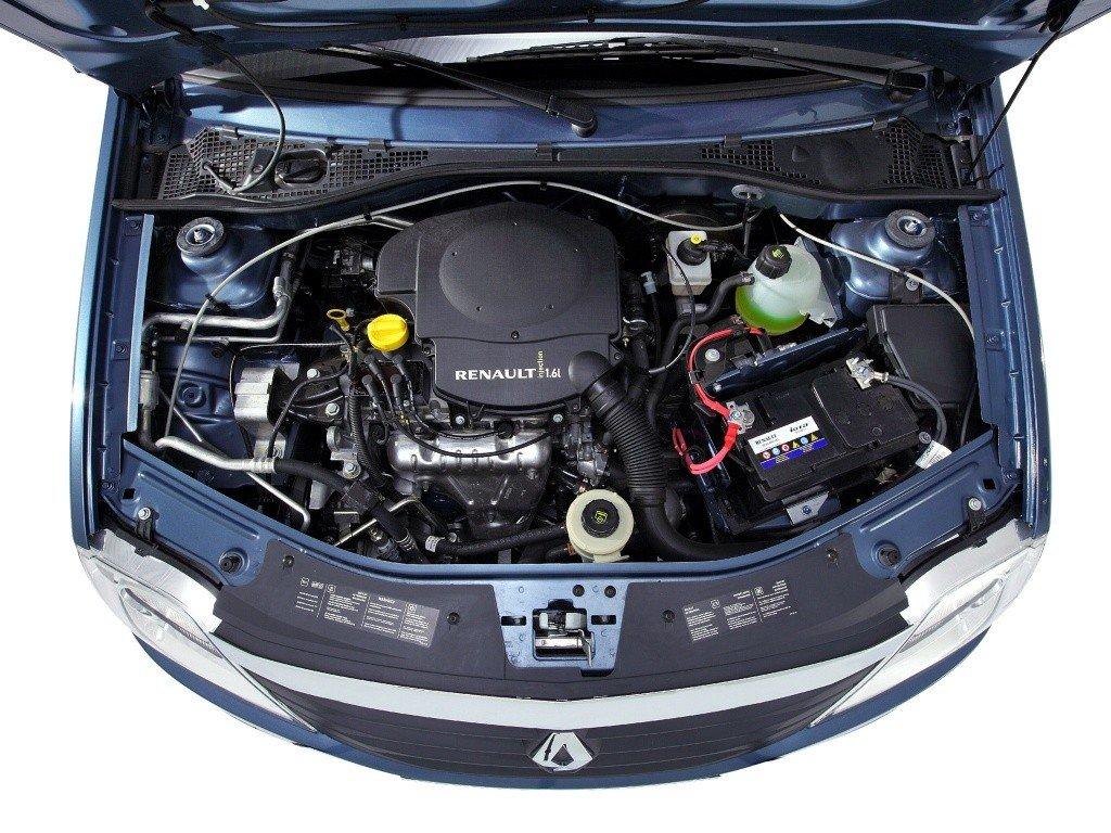 Renault Logan - под капотом