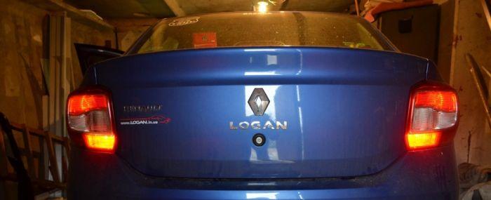 Задние противотуманки Renault Logan 2