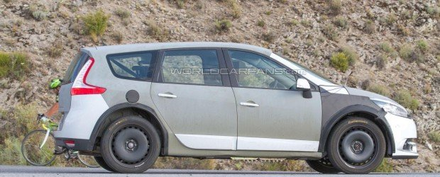 Renault Grand Scenic тестируют на европейских трассах