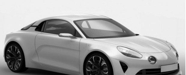 В Renault показали фото новой серийной Alpine