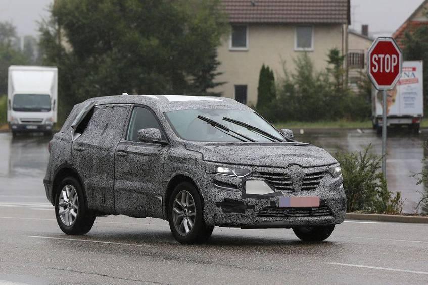 Новый Renault Koleos на тестах в Европе