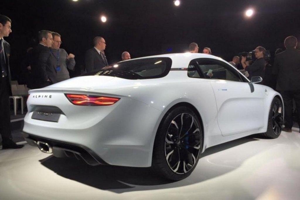 Renault Alpine Vision, вид сзади