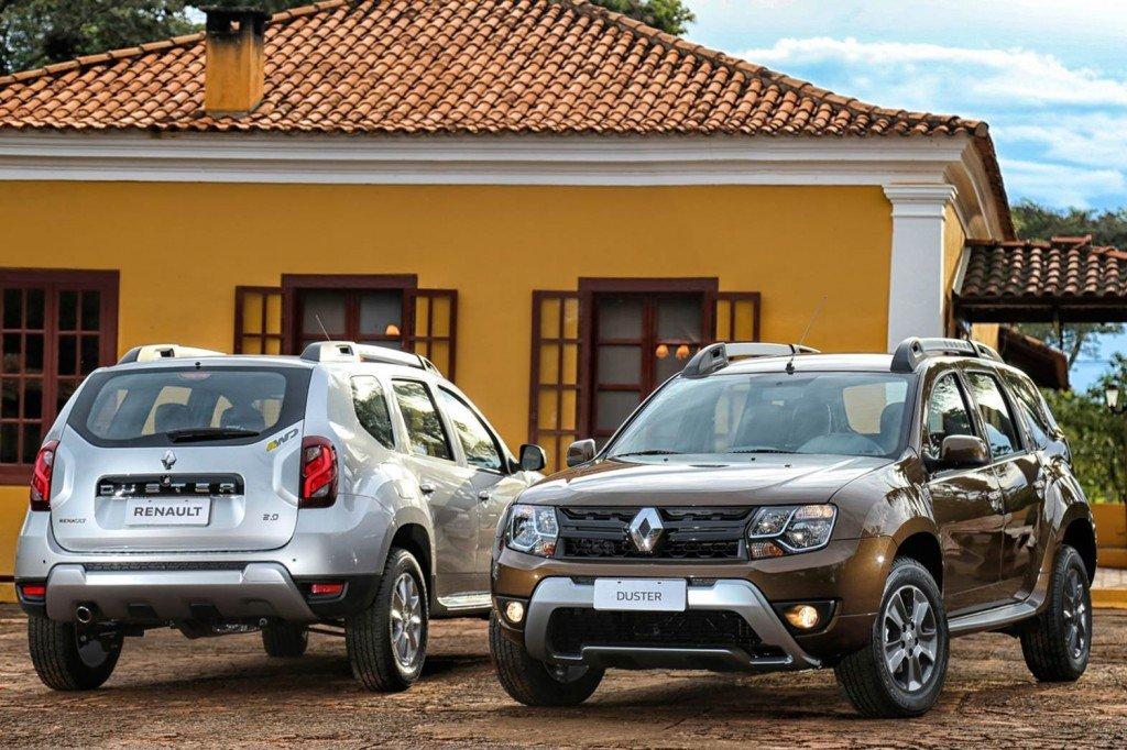 Renault Duster, вид спереди и сзади