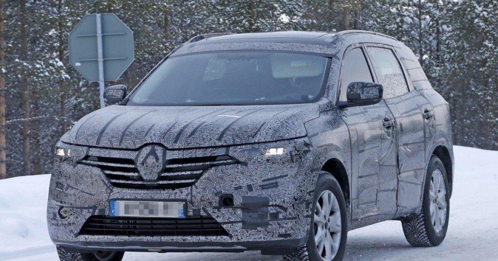 Renault Maxthon, вид спереди