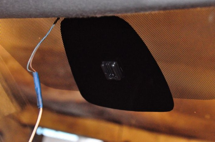 Установка зеркала заднего вида с авто затемнением