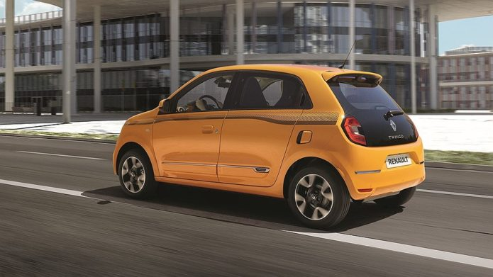 Обновление хэтчбека Renault Twingo