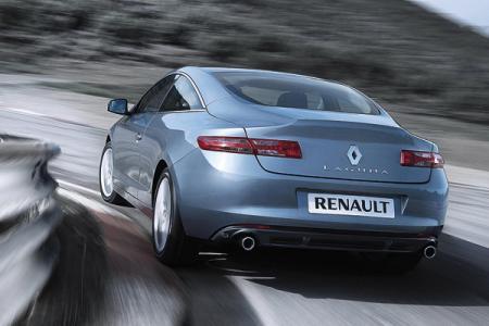Новый Renault Laguna в сегменте D