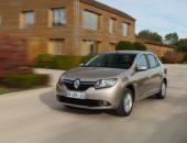 Новый Renault Logan 2 серебристо-коричневого цвета
