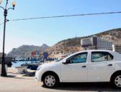 Renault Logan белого цвета