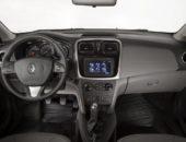 Салон Renault Logan 2014, руль и приборная панель