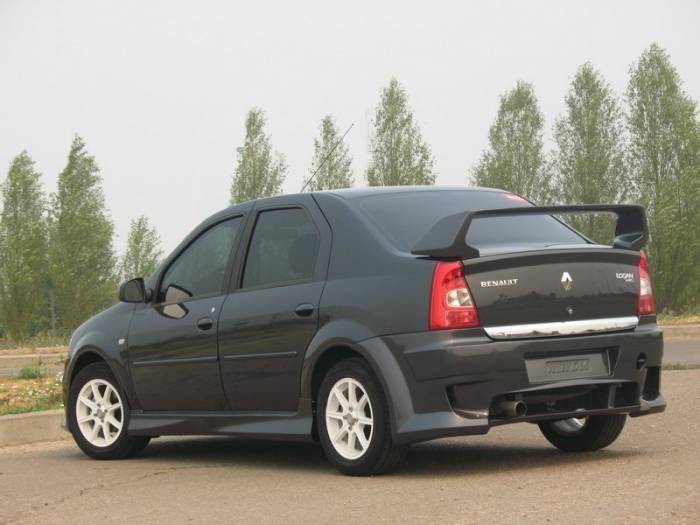 Внешний тюнинг Renault Logan 2