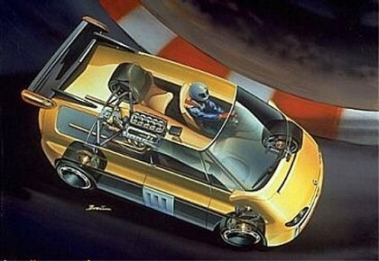 Бешеный минивэн: Renault Espace F1