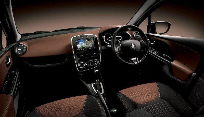 Шоколадный  Clio 4 поступит в продажу ко Дню Святого Валентина