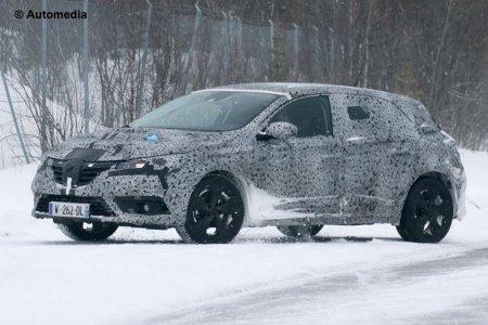 Фотошпионы заметили Renault Megane