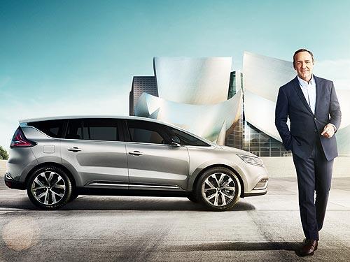 Renault Espace представит Кевин Спейси