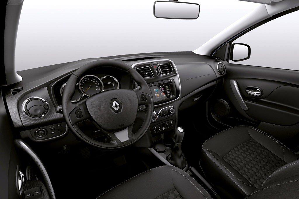 Салон Renault Logan 2