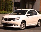 Renault Logan 2014 белого цвета
