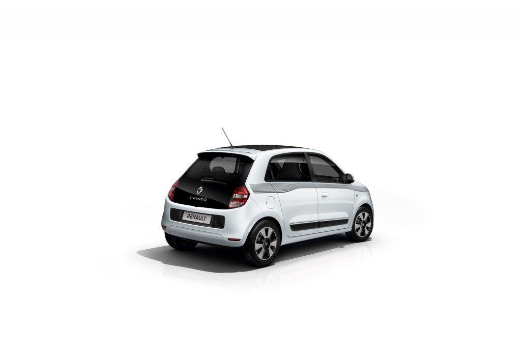 Renault Twingo Limited Edition вид сзади