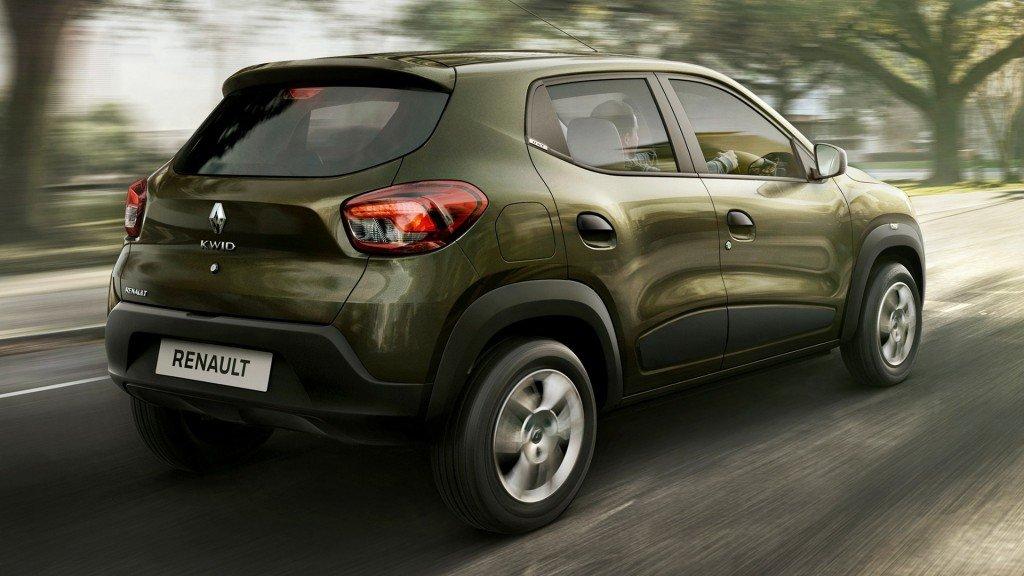 Renault Kwid, вид сзади