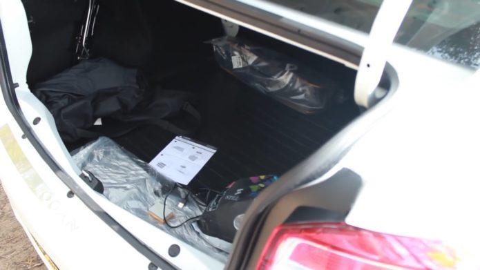 багажник нового рено логан 2
