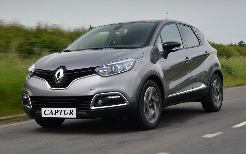 Гибридная версия автомобиля Renault Captur