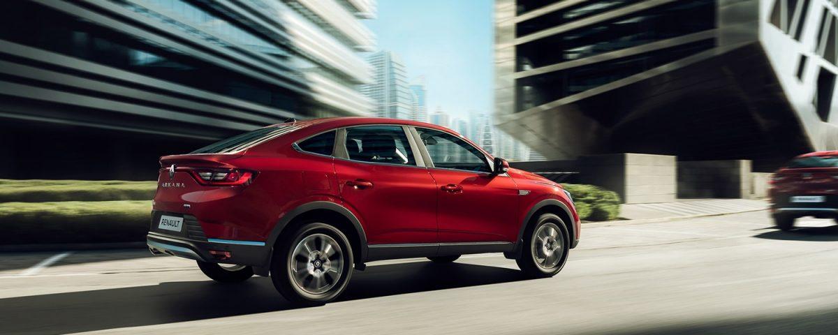 Совершенно новая Renault Arkana: мощнее, точнее, четче